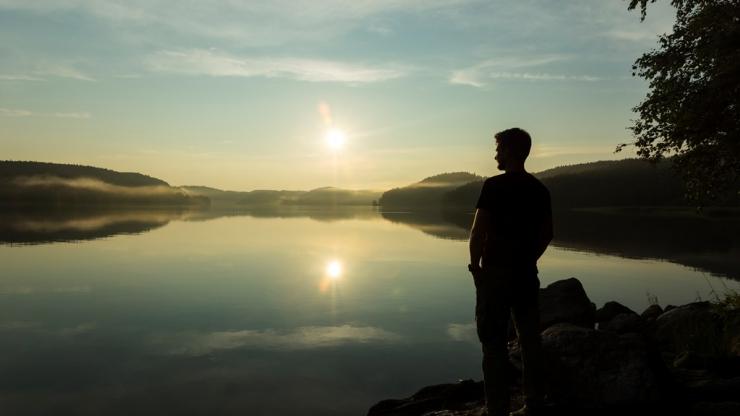 Ладожское озеро. Максим