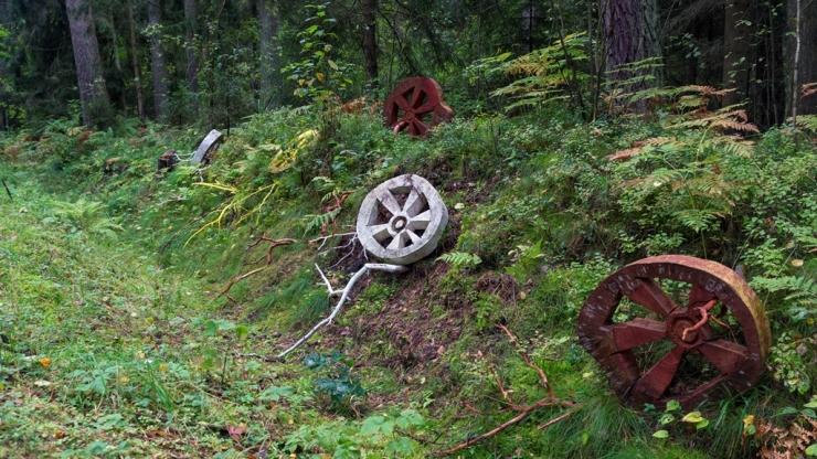 Тележные колёса