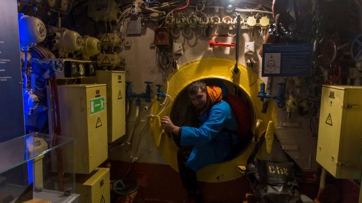 Внутри подводной лодки 7