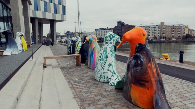 Разноцветные тюлени