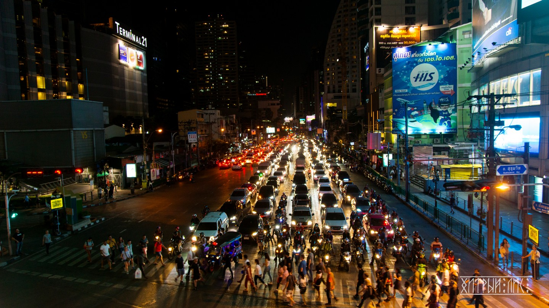 Пробки Бангкока 2