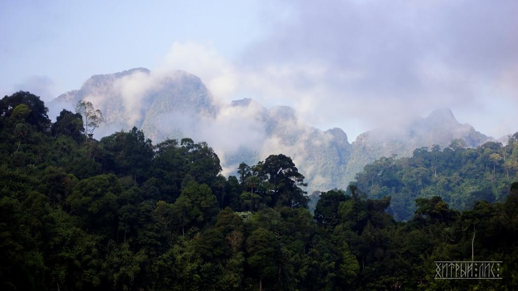 Холмы в дымке