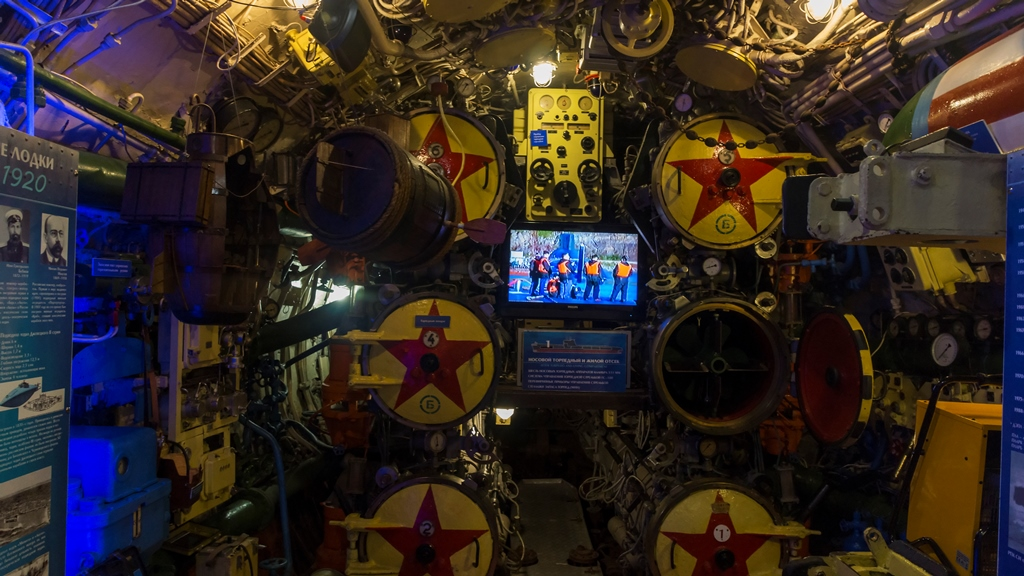 Внутри подводной лодки 1