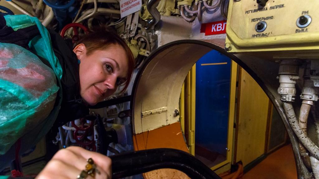 Внутри подводной лодки 2