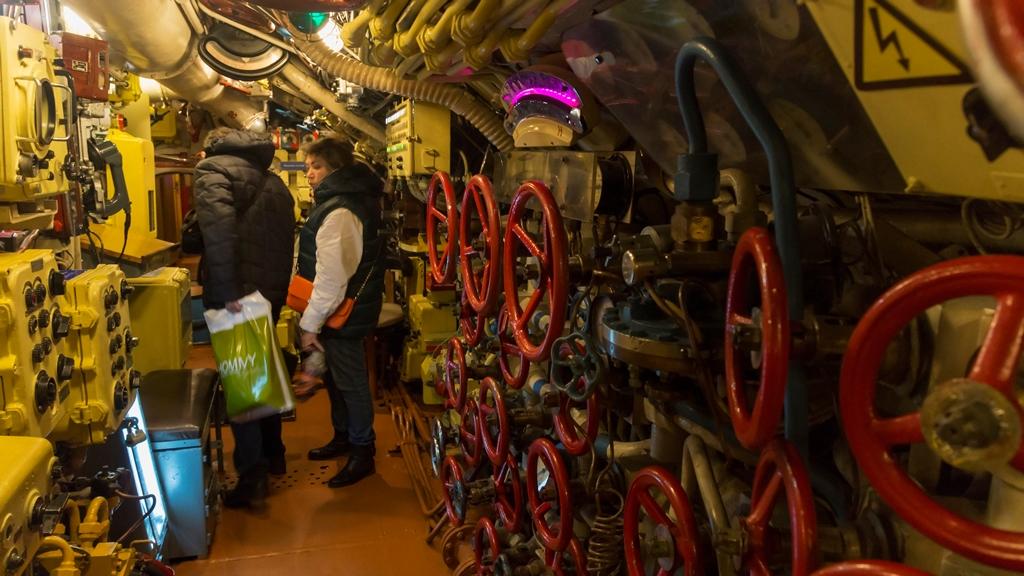 Внутри подводной лодки 5