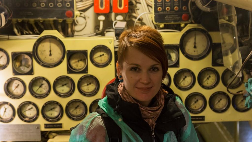 Внутри подводной лодки 6