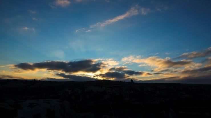 Рассветные облака