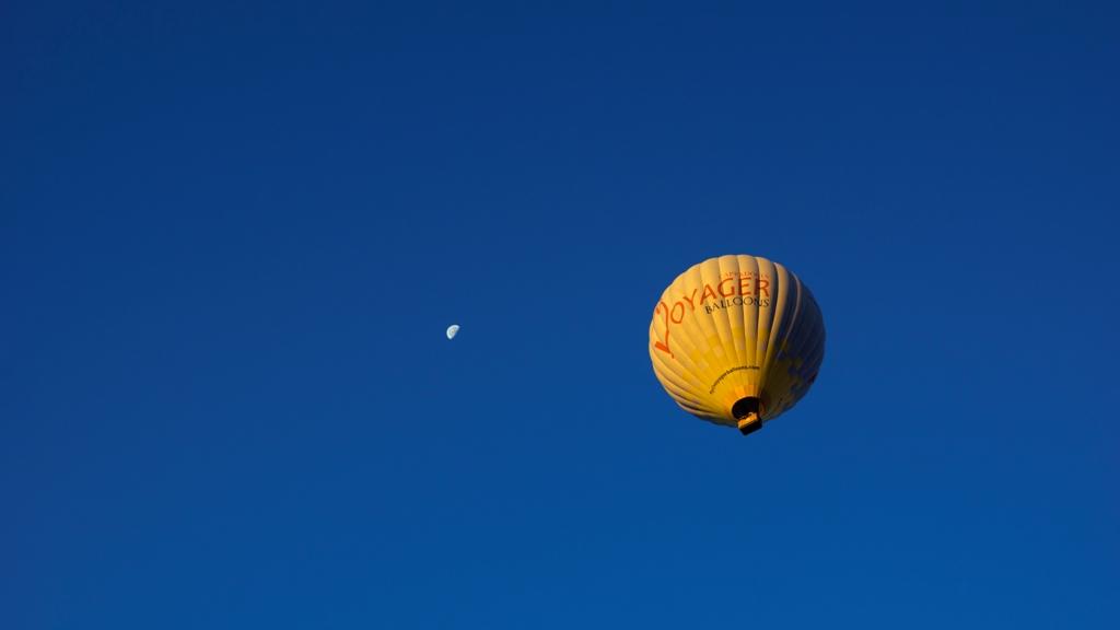 Воздушные шары над Гёреме 2