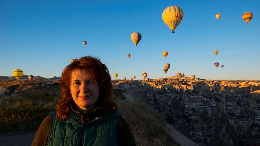 Воздушные шары над Гёреме 3