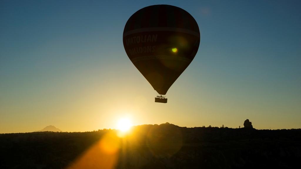 Воздушные шары над Гёреме 4