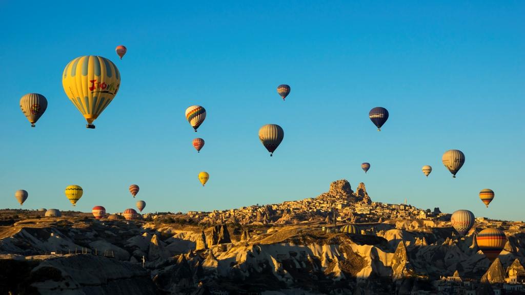 Воздушные шары над Гёреме 5