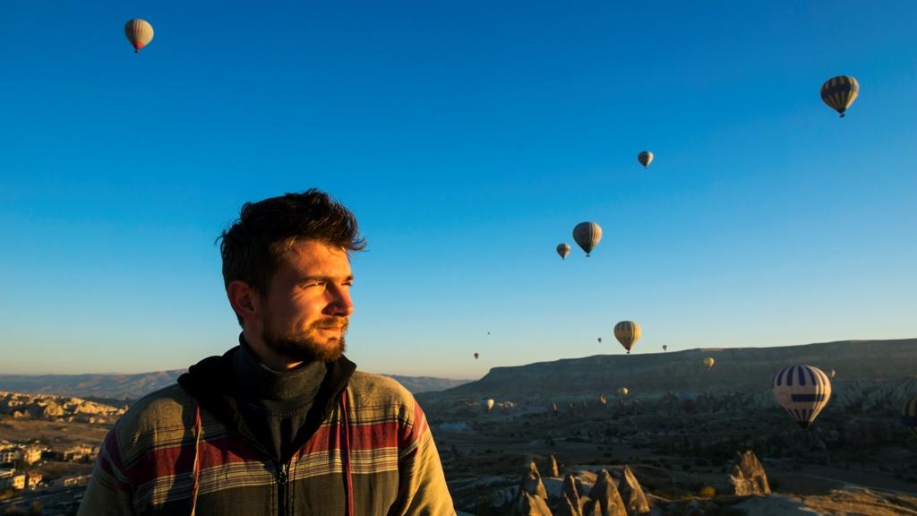 Воздушные шары над Гёреме 6