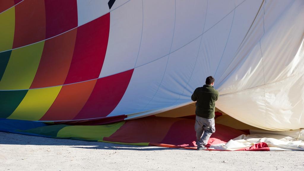 Упаковка воздушного шара 1