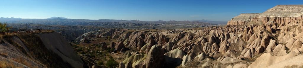 Панорама Красной долины