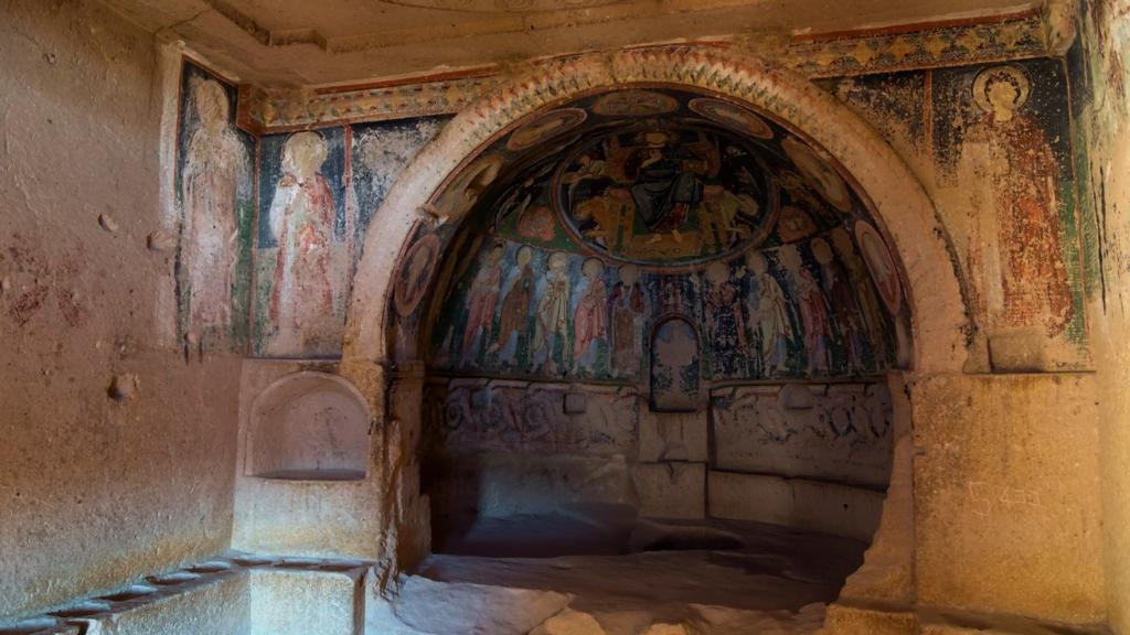 Фрески Каппадокии 5