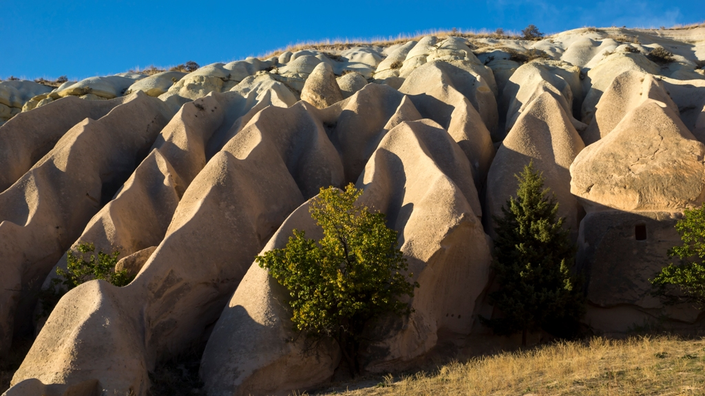 Округлые скалы