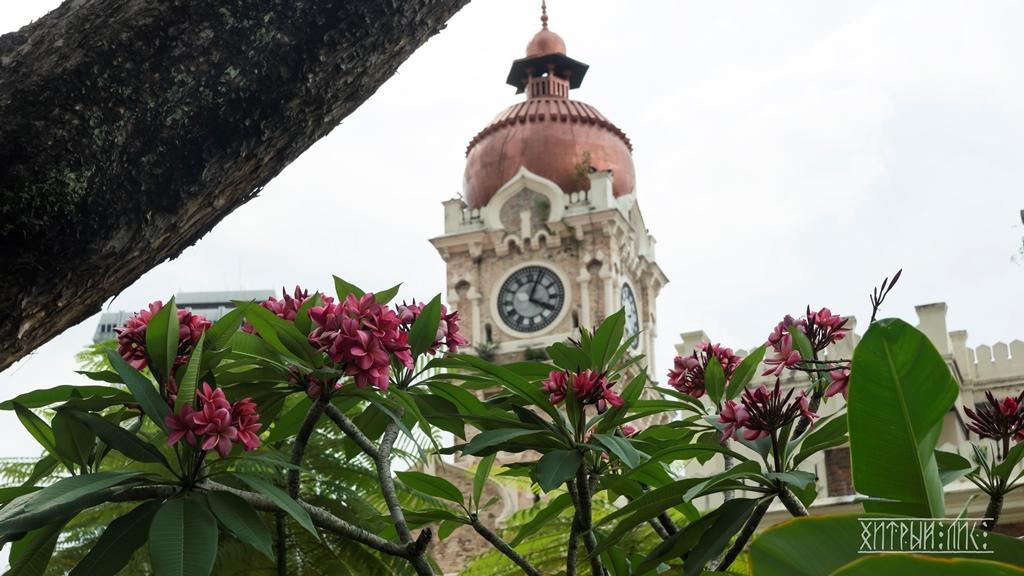 Здание султана Абдул-Самада. Часовая башня