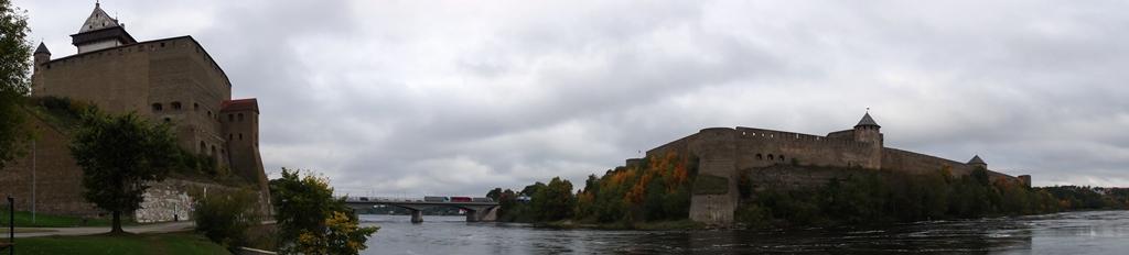 Две крепости. Панорама 1
