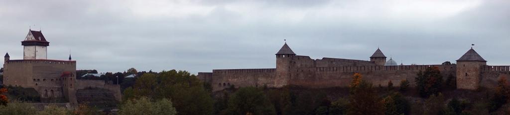 Две крепости. Панорама 2