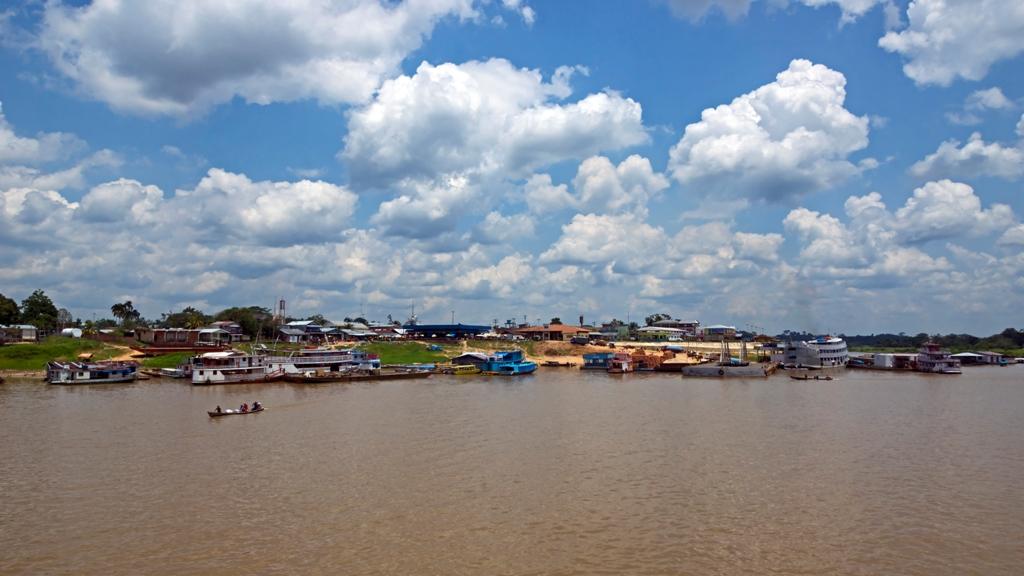 Деревня на Амазонке