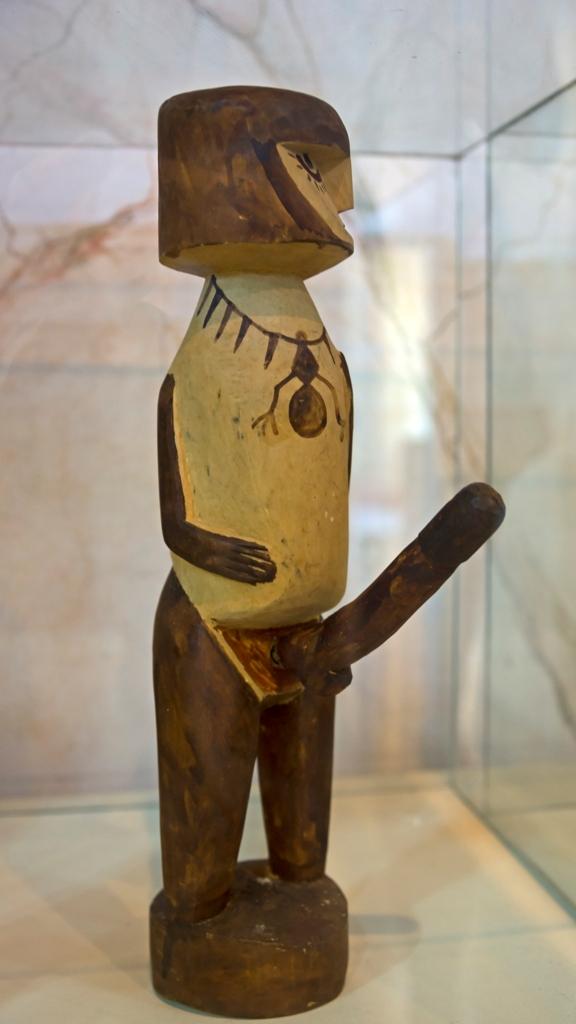 Индейская статуэтка