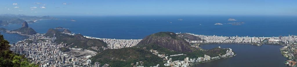 Рио сверху 1. Панорама