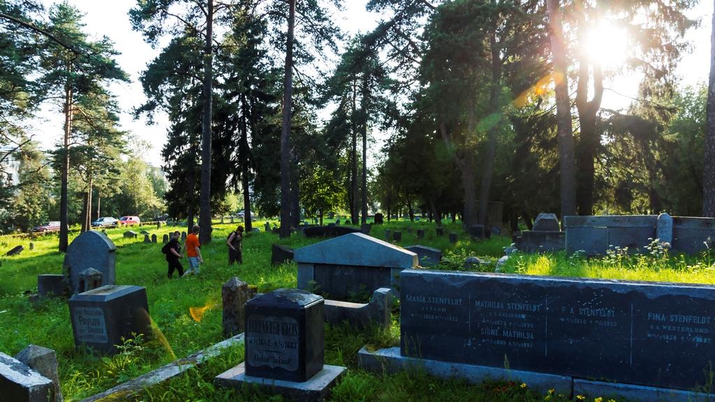 Сортавала. Финское кладбище 2