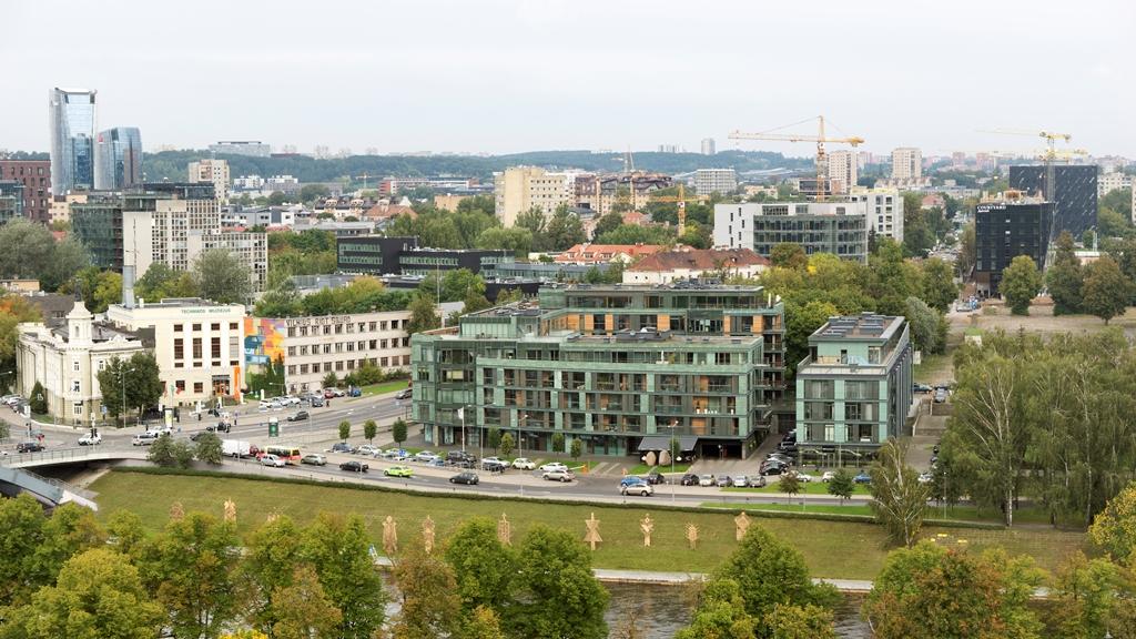 Деловой квартал Вильнюса