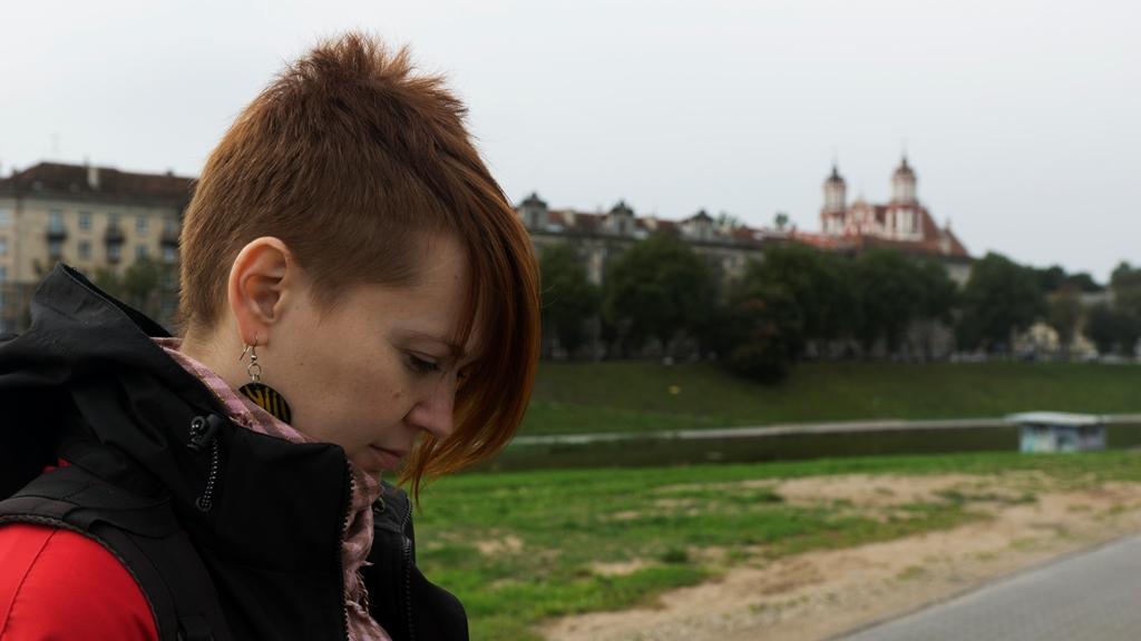 Полина в Вильнюсе