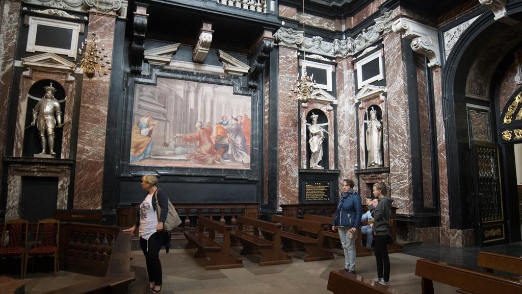 Кафедральный собор Св. Станислава. Интерьер