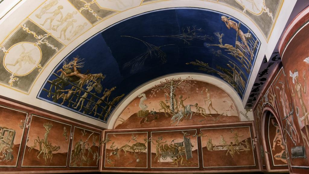 Вильнюсский университет. Фрески 1