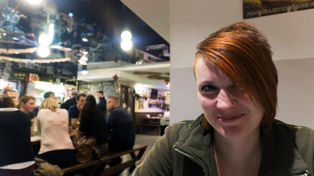 В ресторане Šnekutis