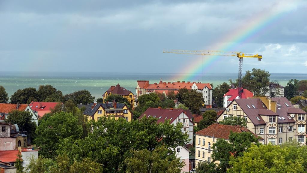 Радуга над Балтикой