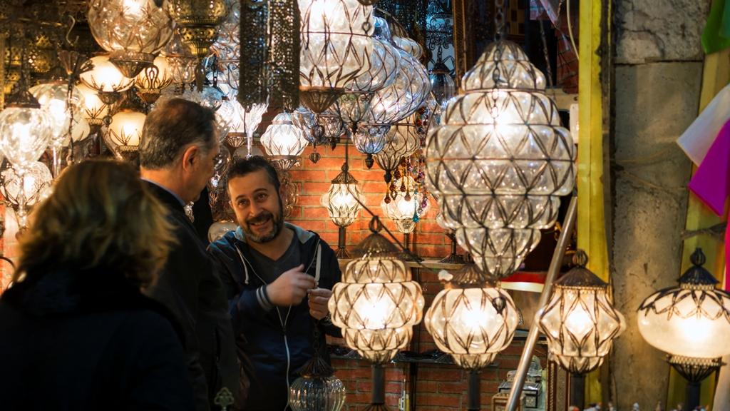 Лавка-светильников