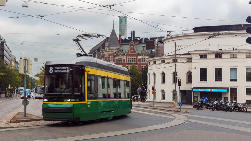 Хельсинкский-трамвай