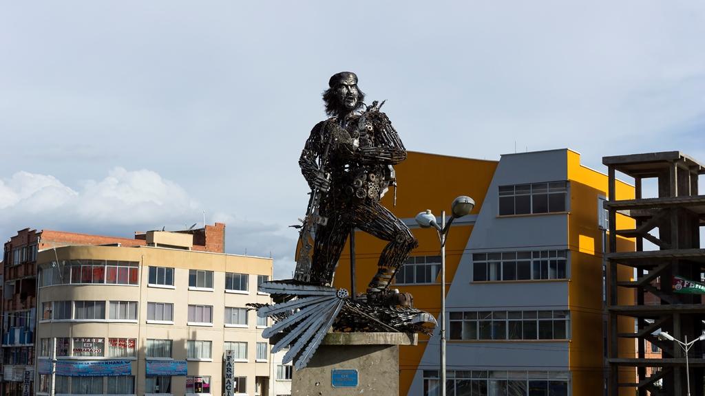 Город-El-Alto.-Памятник-Ernesto-Che-Guevara